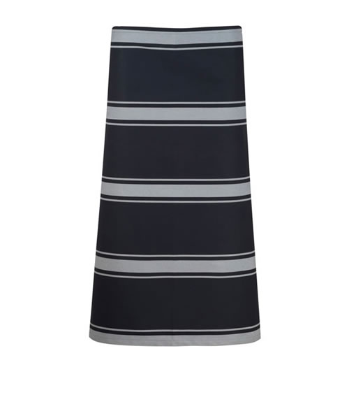 CA004 3/4 Length Butchers Stripe Apron