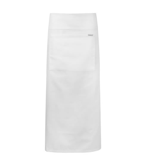 CA007 Continental Apron with Pocket & Fold Over