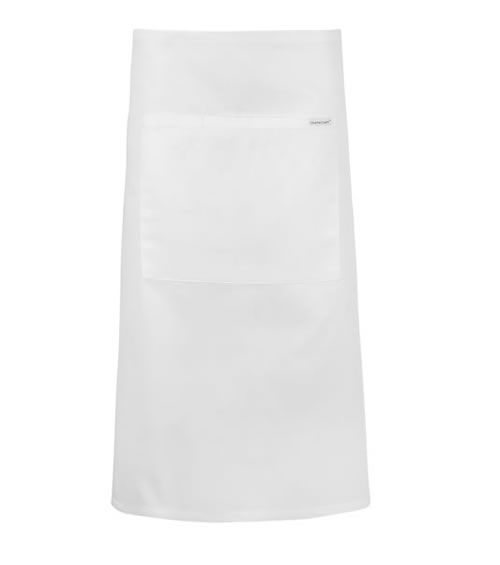CA011 3/4 Length Apron with Pocket