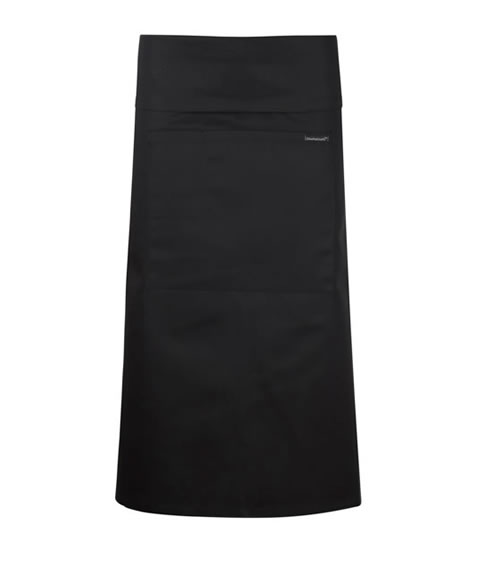 CA014 3/4 Length Apron with Pocket & Fold Over