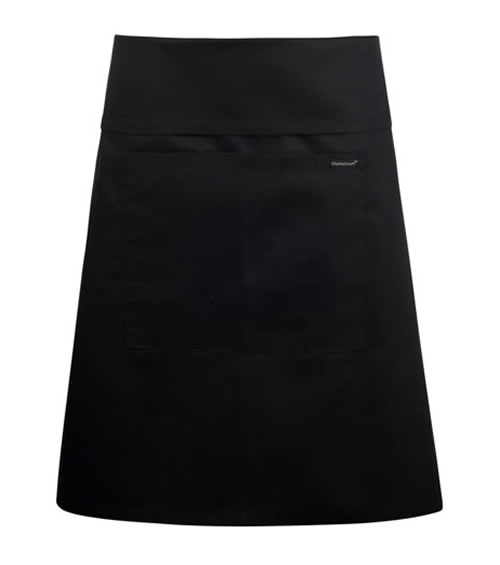 CA020 Half Apron with Pocket & Fold Over