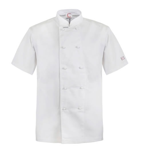 CJ033 Classic Chefs Jacket - Short Sleeve