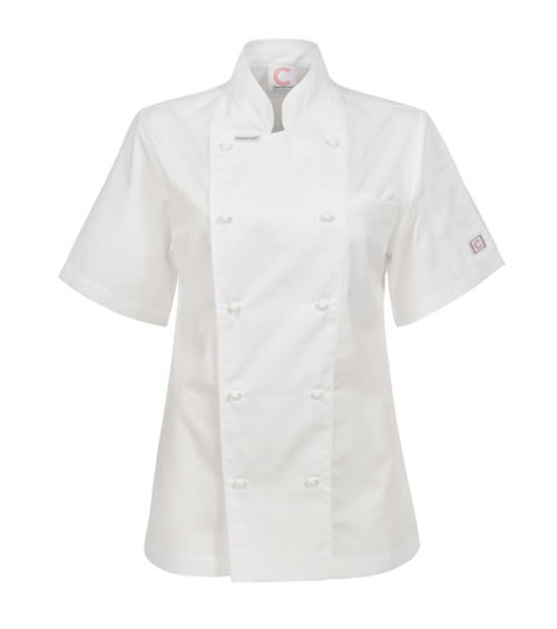 CLJ22 Ladies Executive Chefs Lightweight Jacket - Short Sleeve