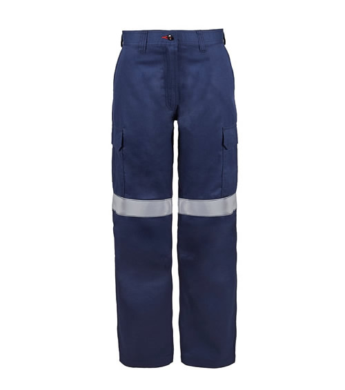 FPL019 Torrent HRC2 Ladies Cargo Pant with FR Reflective Tape