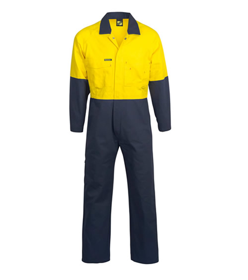 WC3051 Hi Vis Two Tone Coveralls
