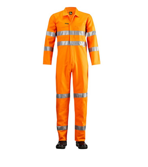 WC3054 Hi Vis Coveralls with 3M 9920 Reflective Tape