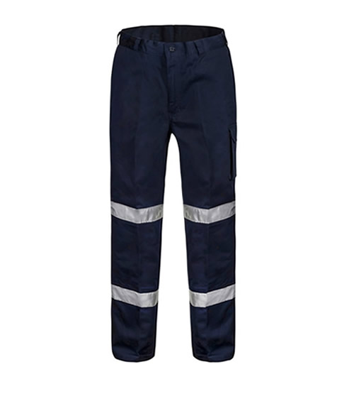 WP3065 Mid Weight Cargo Trouser with 3M Reflective Tape