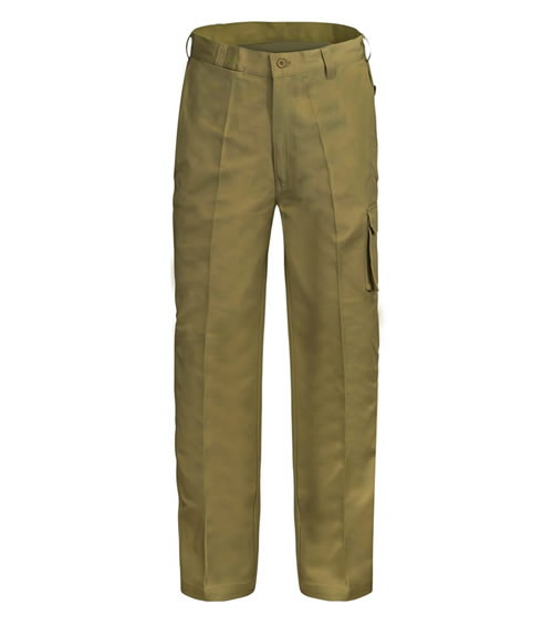 WP3068 Modern Fit Cargo Cotton Drill Trouser