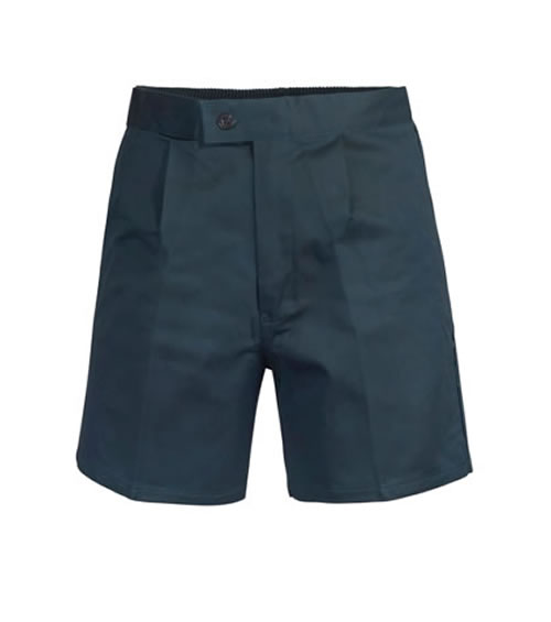 WP7000 Elastic Waist Cotton Drill Short