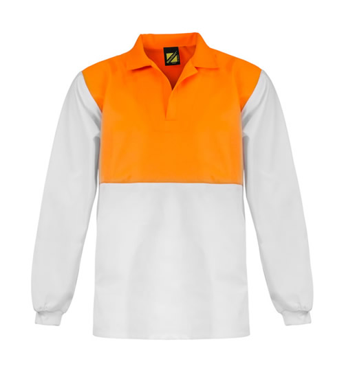 WS3002 Hi Vis Jac Shirt - Long Sleeve