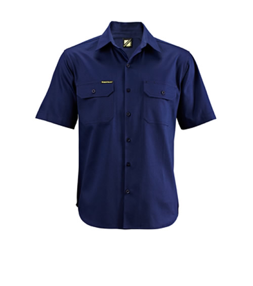 WS3025 Lightweight Short Sleeve Cotton Drill Shirt