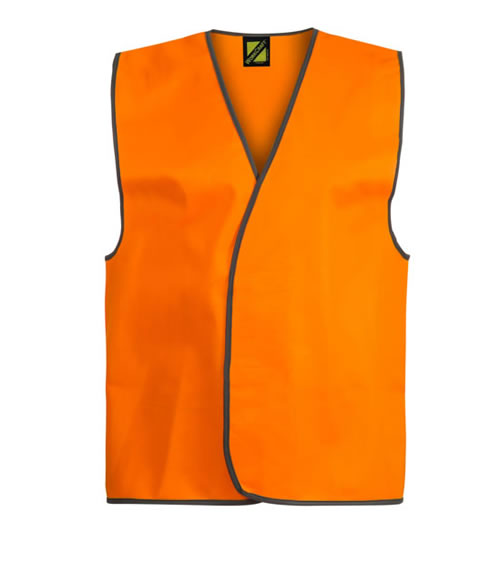 WV7000 Hi Vis Adult Safety Vest