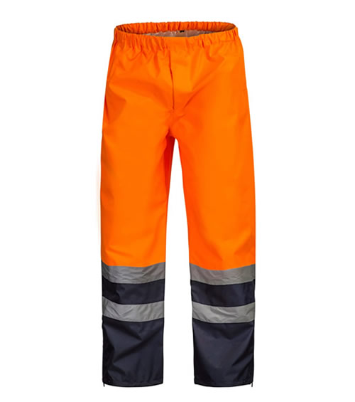 WW9006 Hi Vis Two Tone Waterproof Pant with CSR Reflective Tape